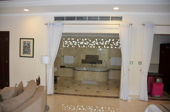 Viceroy Bali:                   Villa bath