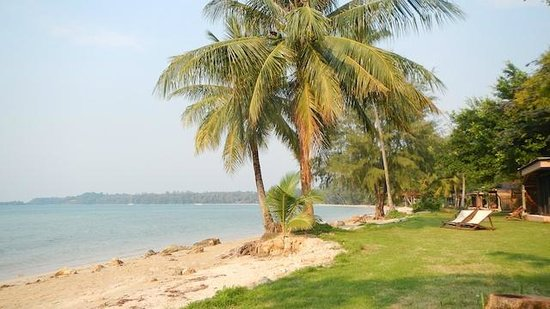 Koh Mak Resort:                   Exterior of Superior Beachfront Bungalow