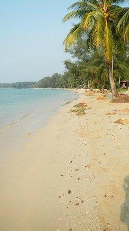 Koh Mak Resort:                   Beach