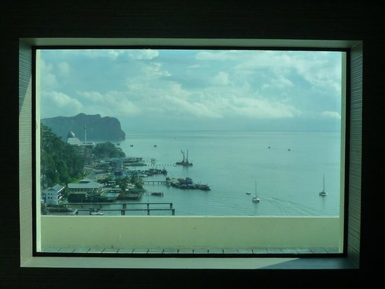 Four Points by Sheraton Sandakan:                                     View from hotel