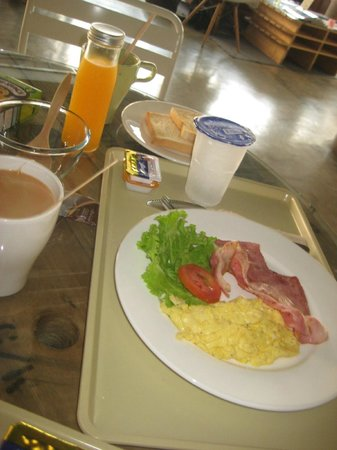 The Warehouse Bangkok:                   Excellent breakfast if included (this is the American breakfast)