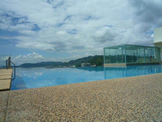 Four Points by Sheraton Sandakan:                                     View from poolside