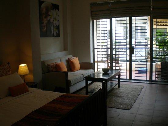 Riverside Suites:                                     chambre 101