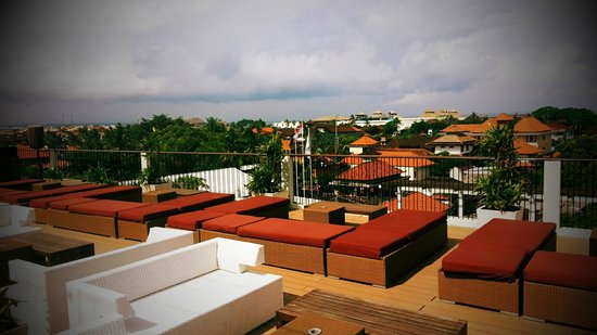 The ONE Legian:                   Rooftop with Legian view