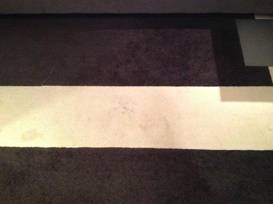 Hotel Causeway :                                     dirty carpet