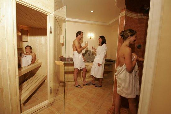 Reiters Wohlfuhlhotel: Wellnessbereich mit Sauna, Dampfbad und Infrarotkabine