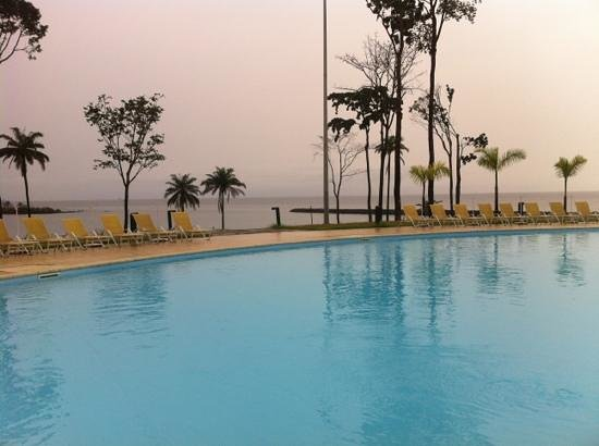 Sofitel Malabo Sipopo Le Golf:                   large pool in front of the ocean