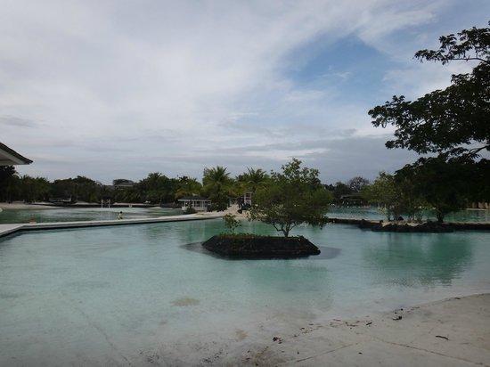 Plantation Bay Resort And Spa:                   部屋のテラスからの景色