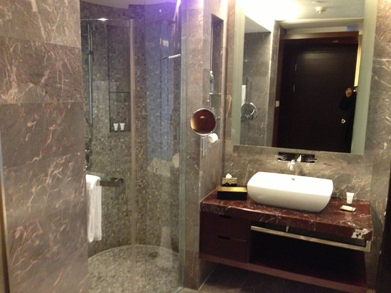 The Longemont Shanghai:                                     Bathroom