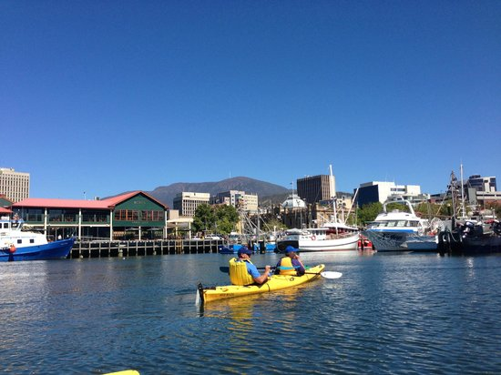 Hobart Urban Adventures Kayak Tour:                                     Just beautiful