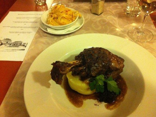 Castle Residence Praha:                                     Dinner