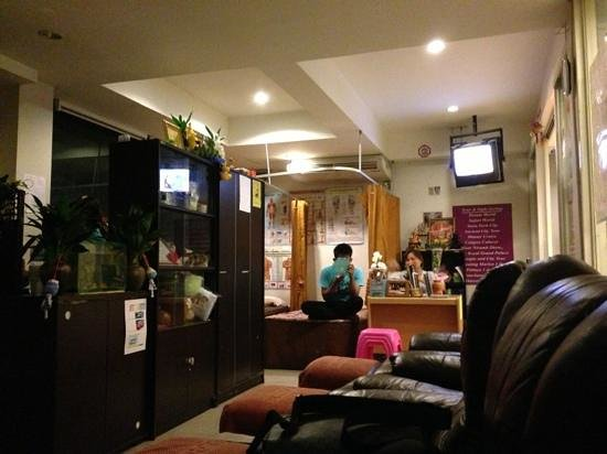 myhotel Pratunam:                                     at night