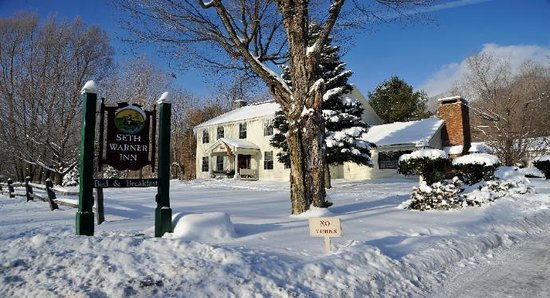 Seth Warner Inn: Winter day in VT