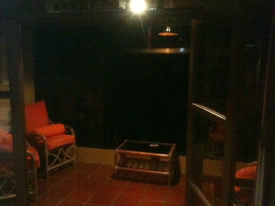 Hotel Trapp Family:                                     Private Terrace in room