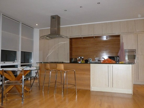 Glasgow Loft Apartments:                                     Kitchen area