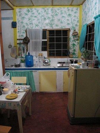 Casa da la Playa :                   Kitchen in the cottage