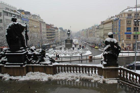 Castle Residence Praha:                                     Wenceslas Square