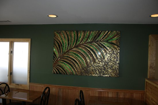 Kudos American Grille: tastefully decorated