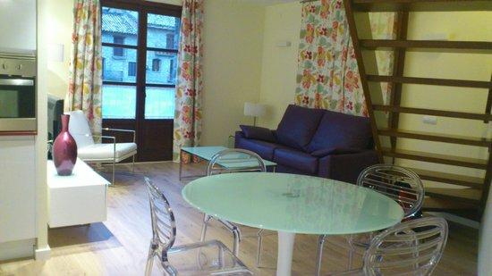 Apartamentos El Palacete de Ainsa:                   SALON