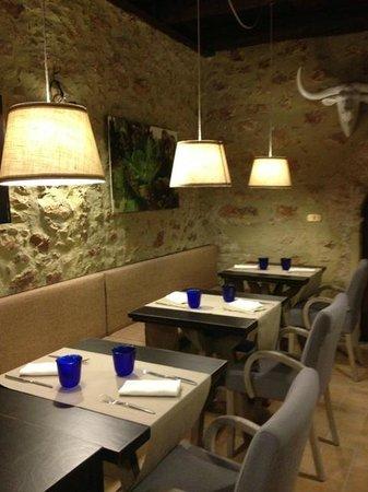 Stroncone, Italy: sala inferiore