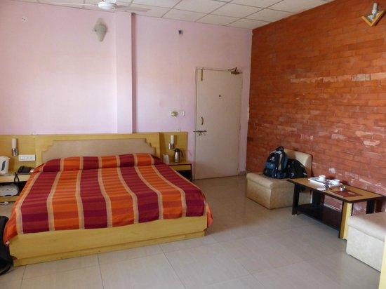 Omkareshwar, Indien:                   chambre