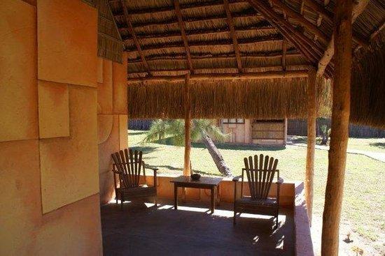 Bonito Bay: Bungalow veranda