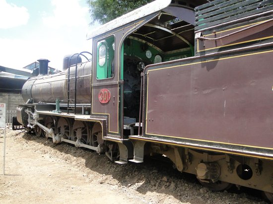 Railway Museum:                   Train 301 used to shoot the movie Out of Africa