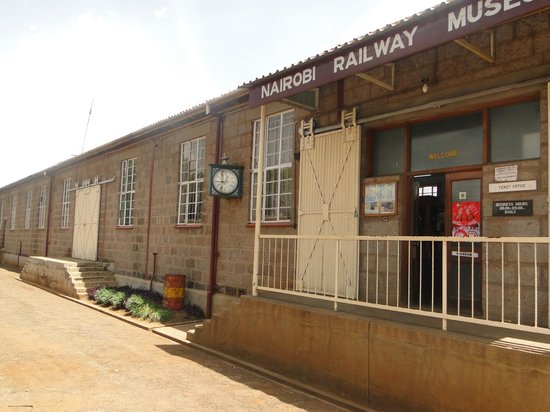Railway Museum:                   Another view of the entrance