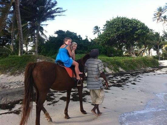 ‪‪Coconut Bay Beach Resort & Spa‬:                   my kids loved horse riding alomg the beach