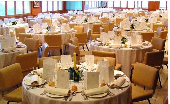 Can Boix de Peramola: Sala de banquetes