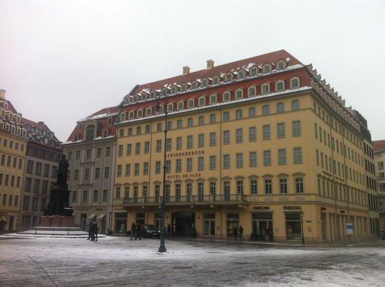Steigenberger Hotel de Saxe:                                     Das Hotel