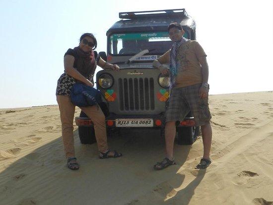 Le Royal Camps:                   Jeep ride