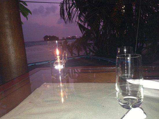 Kuredu Island Resort & Spa:                                     Dîner
