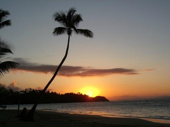 Hotel Alisei:                   coucher de soleil