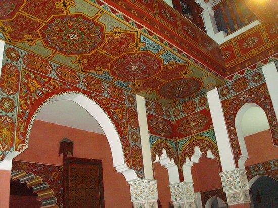Moroccan House Hotel:                   Main Lobby