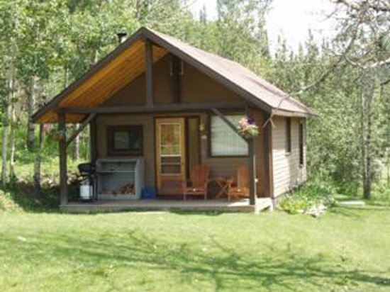 Old Entrance B 'n B Cabins & Teepees: Brown Cabin