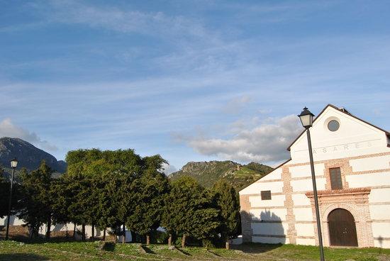 Pueblo Andaluz Casares:                   Centro cultural Blas Infante
