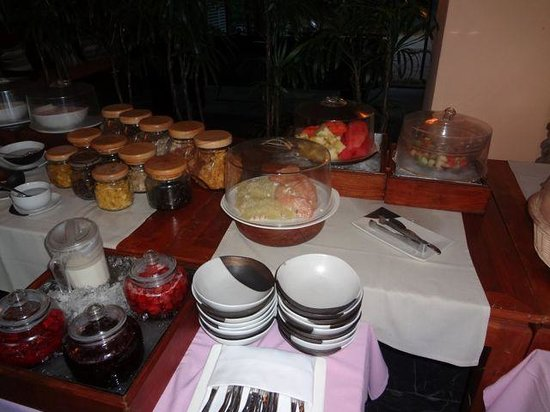 The Sunset Beach Resort & Spa, Taling Ngam:                   breakfast: fruit, yogurt, muesli section