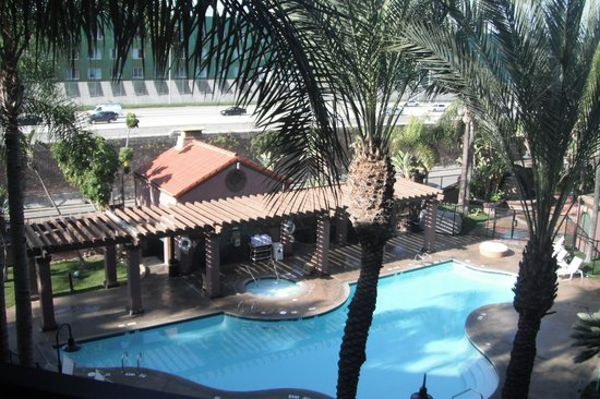 Four Points by Sheraton Anaheim:                   View from Shared walkway/balcony