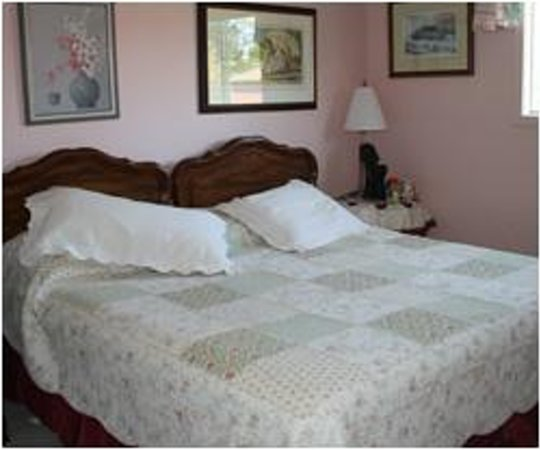 Tranquility Base Bed and Breakfast: King Bedroom