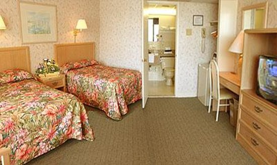 Beau Rivage Beach Resort: Motel Room