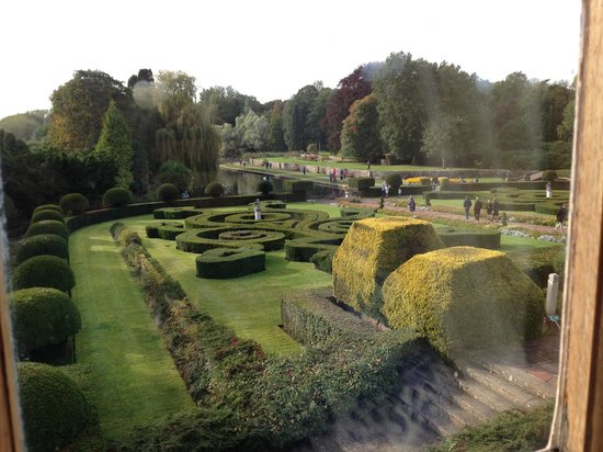 Coombe Abbey Country Park:                   A view from one of the back rooms