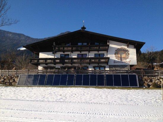 Sonnenhof:                   front of chalet