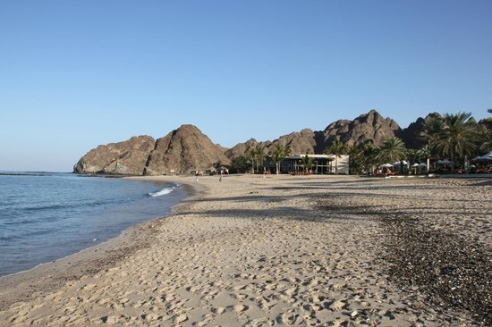 Al Bustan Palace, A Ritz-Carlton Hotel:                   Beach
