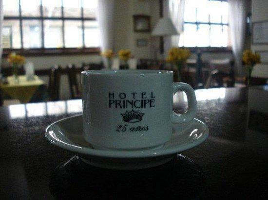 Hotel Principe: Cafe
