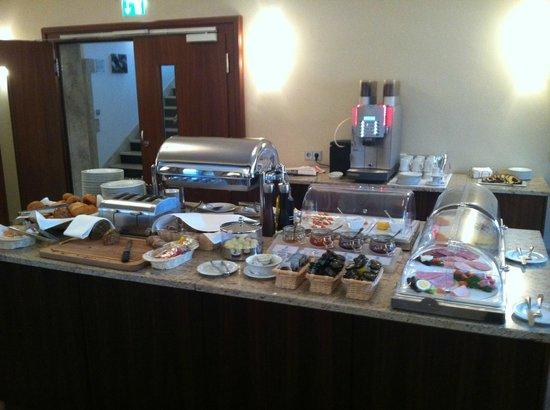 Hotel Kocks am Muhlenberg:                   Buffet