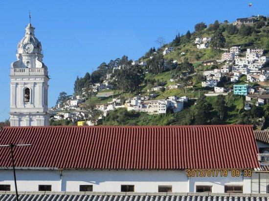 Hotel Boutique Plaza Sucre:                   vista desde el restaurant