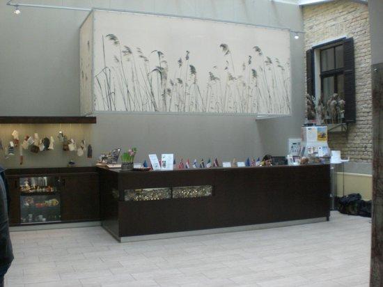 Hanza Hotel  Riga Lobby