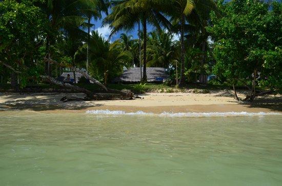 Koyao Island Resort:                                     la villa et la plage