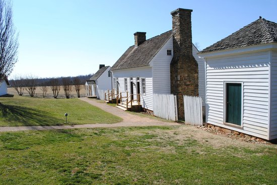 Ash Lawn-Highland:                   Slave and later, Guest Quarters